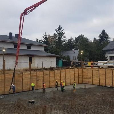 Budowa wielorodzinnego domu 1